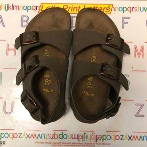 Birkenstock Roma Birkibuc Sandals, Euro 30